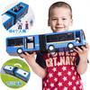 SIMBA 仙霸公交车玩具车  蓝色双节巴士(带人偶)