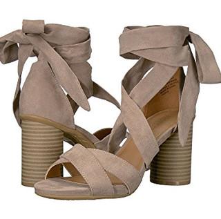 限尺码 : Kenneth Cole Reaction Rita Lita 女士高跟凉鞋