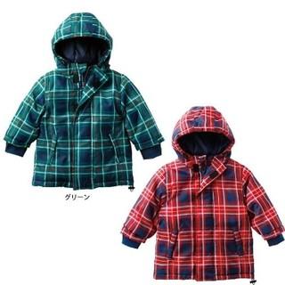 SKIPLAND 斯克莱 格子纹儿童保暖夹克