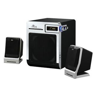 惠威(HiVi)多媒体音箱 M12 2.1声道 电脑音箱 电视音响