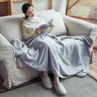 网易严选 进级款素色暖绒盖毯 180*200cm