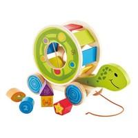 Hape E8038 乌龟拖拉儿童玩具 +凑单品