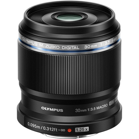 京东PLUS会员:OLYMPUS 奥林巴斯 M.ZUIKO DIGITAL ED 30mm f/3.5 Macro 定焦镜头