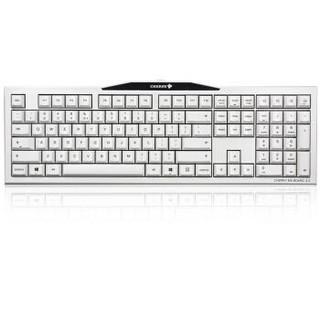 樱桃(Cherry)MX-Board 3.0 G80-3850机械键盘 白色 红轴