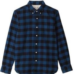 MUJI 无印良品 16AC779 男士法兰绒衬衫