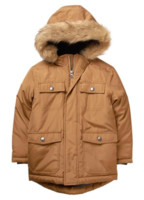 Gymboree Faux-Fur Hooded Jacket 男童连帽夹克