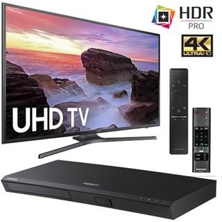 SAMSUNG 三星 40寸 LED 4K UHD 电视+UBD-M7500 蓝光 播放器