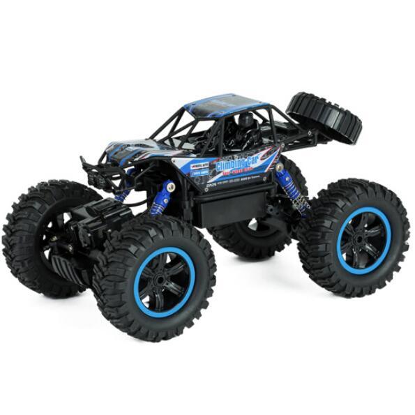 美致模型 MZ   遥控1:14 大脚攀爬车  亮蓝色