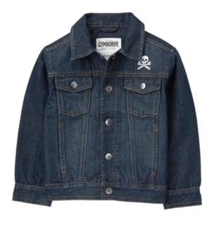 GYMBOREE 金宝贝 Crossbones Jacket 男童款牛仔夹克
