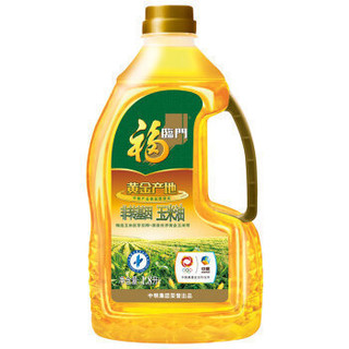 福临门 非转基因 玉米油 1.8L