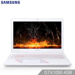三星(SAMSUNG)玄龙骑士15.6英寸游戏笔记本电脑(i5-7300HQ 8G 1T+128GSSD GTX1050 4G独显 Win10 FHD)白