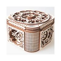 UGEARS 木质机械传动模型 珍宝首饰盒
