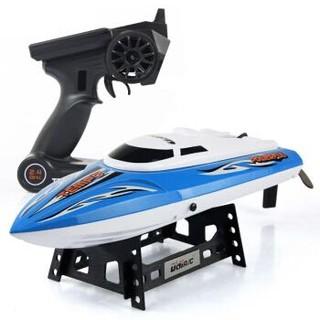 优迪玩具 遥控船UDI902 42CM大号 蓝色 *3件