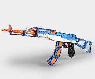 DOUBLE E 双鹰 咔搭积木 C81001 AK47 突击步枪