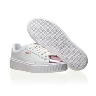 双11预售 : PUMA 彪马 Suede Platform Gold 女款复古休闲鞋