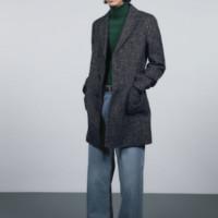 GU 极优 289761 男士羊毛混纺轻型修身大衣