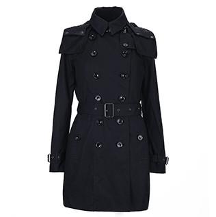 BURBERRY 博柏利 Brit系列 39661901 女士连帽风衣