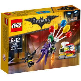 LEGO 乐高 70900 蝙蝠侠系列 小丑气球逃脱