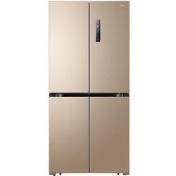 美的(Midea) 468升 多维智能双变频十字对开多门冰箱 63.6cm薄身 风冷无霜 电脑控温  BCD-468WTPM(E)芙蓉金