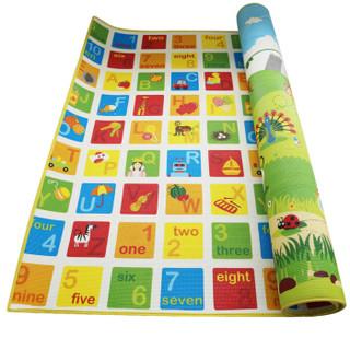 Hape 丛林动物 儿童XPE爬行垫 180*150*1cm  *2件 +凑单品