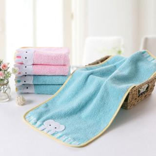 金号毛巾 纯棉小毛巾两条装T1085H