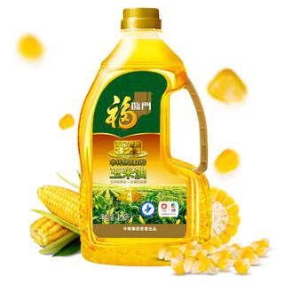 京东PLUS会员 : 福临门 非转基因 玉米油 1.8L *5件