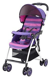日本 Aprica 阿普丽佳 魔捷轻风 轻便儿童推车伞车(葡萄紫)椅背116-135度任意调节 7个月-3岁宝宝适用 APRCSK92PUBN