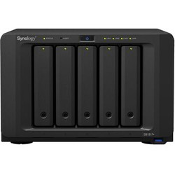 群晖(Synology)DS1517+(2GB) 内存 四核心 5盘位NAS网络存储服务器 (无内置硬盘 )