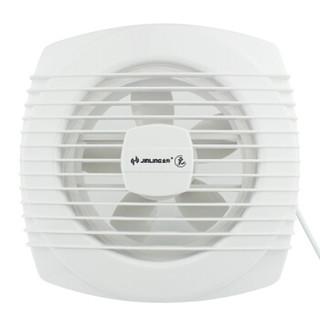 金羚(JINLING)厨房卫生间排气扇换气扇静音浴室排风扇墙窗式8寸APC20-3-8