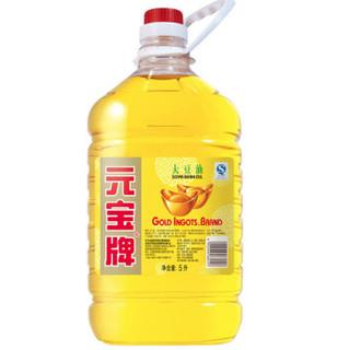 元宝 食用油 大豆油 5L