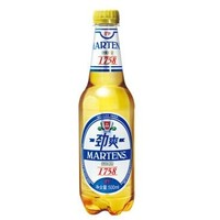 MARTENS 麦氏 1758 8°P 劲爽啤酒 500ml*24瓶 *3箱 +凑单品