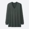 (白色XL)UNIQLO 优衣库 HEATTECH 400220 男士V领T恤 49.5元