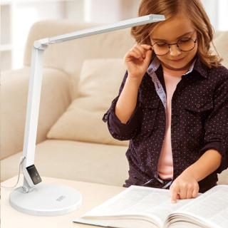 好视力 led 台灯 护眼灯 学习学生儿童台灯工作卧室床头灯调光护眼灯TG188S-WH+凑单品