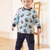 UNIQLO 优衣库 婴儿/幼儿 (UT) T&F压线睡衣(长袖) 403692 49元包邮