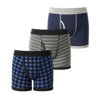 UNIQLO 优衣库 男童短裤 3件装 184903