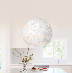 nvc-lighting 雷士照明 EXDD1045 塞伊丝 圆形象牙白餐吊灯