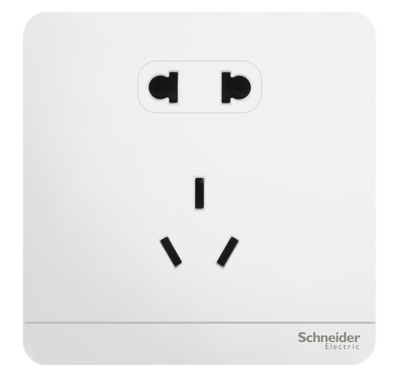 Schneider Electric 施耐德施耐德开关插座 E83426_10US_WE_C1 十只装