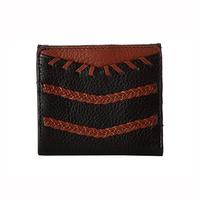 凑单品、历史新低:FOSSIL RFID Weave Caroline Mini 女士钱包