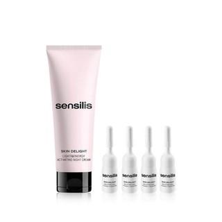 双11预告 : Sensilis 皮肤亮白焕能密集修复套装(75ml+2ml*4) *2件