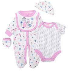 Luvena Fortuna 新生儿5件组合套装 K12279 6-9个月