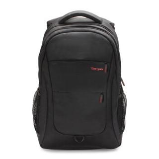 泰格斯(Targus) 15.6英寸 笔记本双肩包电脑包男女学生商务旅行背包书包 黑色 TSB822