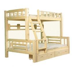 木巴 TB100301 实木子母床 直梯款 1.35m