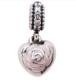 PANDORA 潘多拉 791528EN40 母亲节爱心玫瑰吊坠 *2件