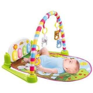 奥智嘉 AoZhiJia 多功能带投影音乐新生儿脚踏钢琴健身架0-1-3岁 婴幼儿早教益智玩具 606星光投影版 *2件