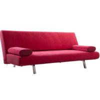 曲美家具 2012WS-S2-3 布艺折叠多功能沙发
