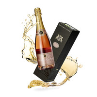 京东PLUS会员:乔治卡迪亚 桃红香槟礼盒装 750ml