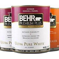 BEHR 百色熊 系列室内蛋壳光内墙乳胶漆两面一底3加仑套装