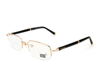 MONT BLANC 万宝龙 Cruise系列 MB375-030 男士半框光学眼镜