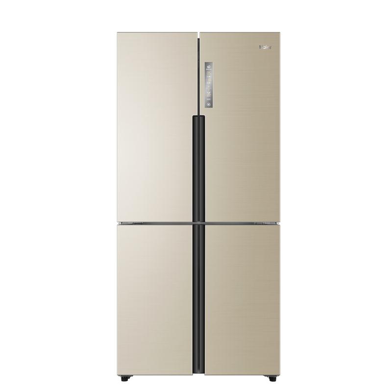 Haier 海尔 金彩系列 BCD-531WDVLU1 风冷十字对开门冰箱 531L 静谧金