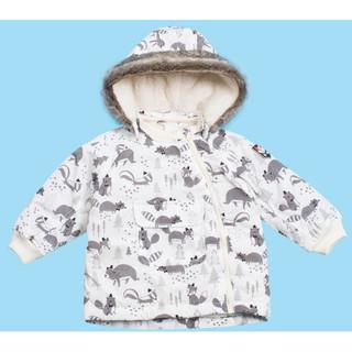 C&A 男婴 印花加绒保暖棉服